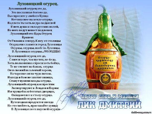 Луховицкий огурец2